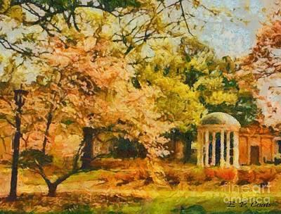 University Of North Carolina  Art Print
