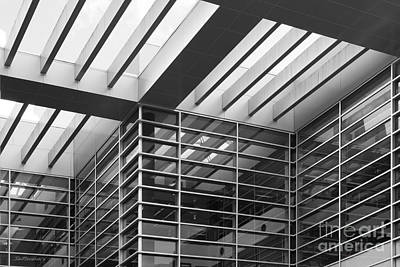 Photograph - University Of North Florida Carpenter Library by University Icons