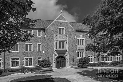 Indiana Photograph - University Of Notre Dame Coleman- Morse Center by University Icons