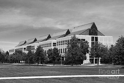 Indiana Photograph - University Of Notre Dame De Bartolo Hall by University Icons