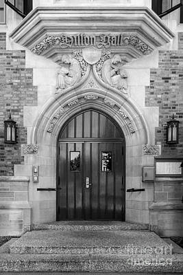 Of Indiana Photograph - University Of Notre Dame Dillon Hall by University Icons