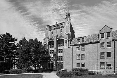 Indiana Photograph - University Of Notre Dame Morrissey Hall by University Icons