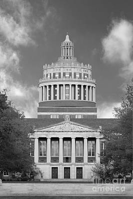 Photograph - University Of Rochester Rush Rhees Library by University Icons