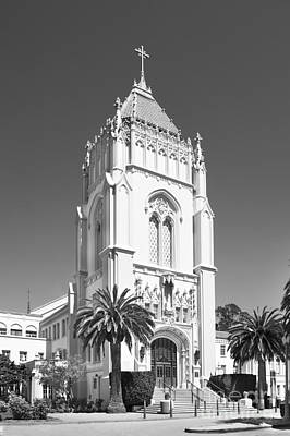 Gifts For Women Photograph - University Of San Francisco Lone Mountain Tower by University Icons