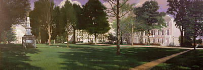 Painting - University Of South Carolina Horseshoe 1984 by Blue Sky