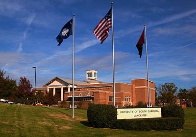 Photograph - University Of South Carolina Lancaster by Bob Pardue
