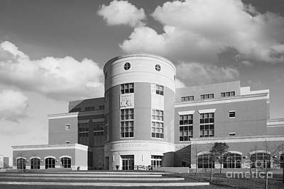 Photograph - University Of Southern Indiana Rice Library by University Icons