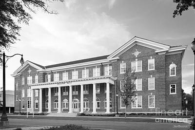 Photograph - University Of Southern Mississippi College Hall  by University Icons