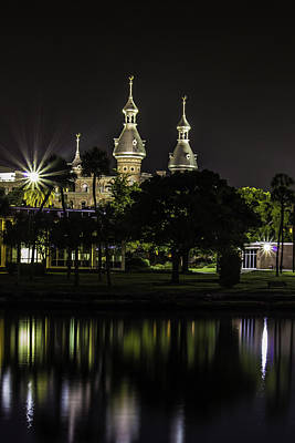 Blue Hues - University of Tampa in a Different Light by Stephen Brown