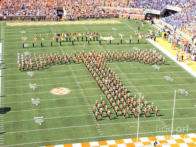 University Of Tennessee Band T  Art Print