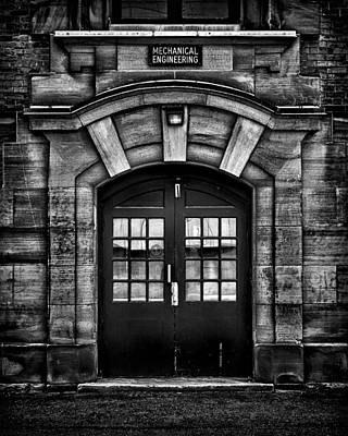 Photograph - University Of Toronto Mechanical Engineering Building by Brian Carson