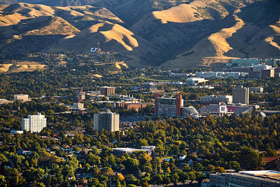 University Of Utah Campus Art Print