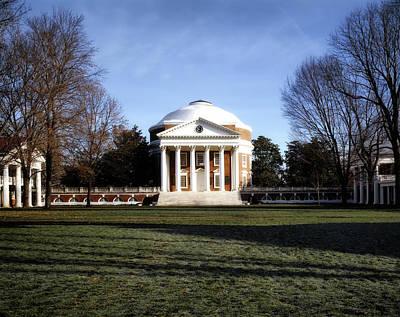 Charlottesville Photograph - University Of Virginia Rotunda by Mountain Dreams