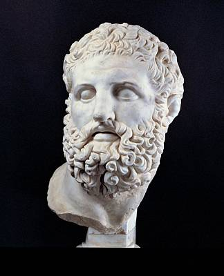 Unknown Artist, Head Of Heracles, 2nd Art Print by Everett