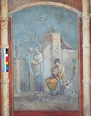 Dionysus Photograph - Unknown Artist, The Child Dionysus by Everett