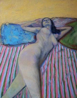 Unknown Pleasure Art Print by Massimiliano Ligabue