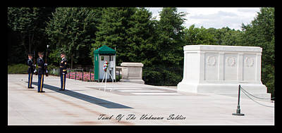 Photograph - Unknown Soldier by David Lester