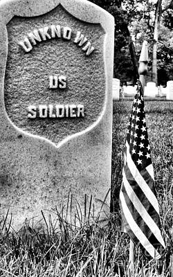 Photograph - Unknown Soldier by JC Findley