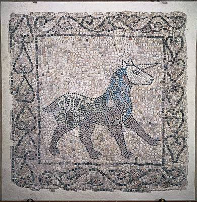 Black Unicorn Photograph - Unknown, Unicorn, 13th Century by Everett