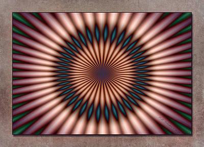 Digital Art - Unleashed by WB Johnston
