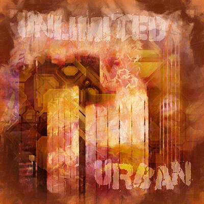 Color Image Mixed Media - Unlimited Urban by Lutz Baar