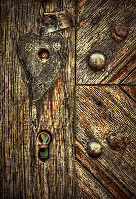 Unlock My Heart Art Print