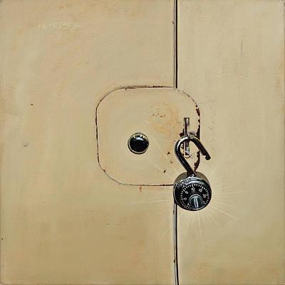 Christo Painting - Unlocking The Master by Eric Christo Martinez