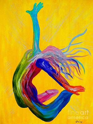 Love Is Free Painting - Unmerited Favor by Eloise Schneider