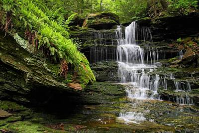 Photograph - Unnamed Falls by Mike Farslow