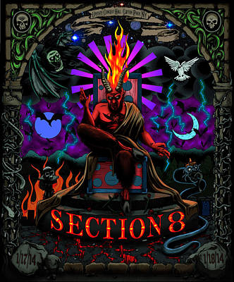 Hartwell Digital Art - Unreleased Section 8 Poster by Steve Hartwell