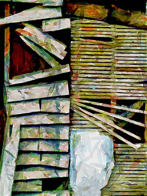 Lath Photograph - Unrepaired by Steve Taylor