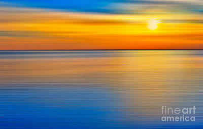 Photograph - Unseen Sunset - A Tranquil Moments Landscape by Dan Carmichael