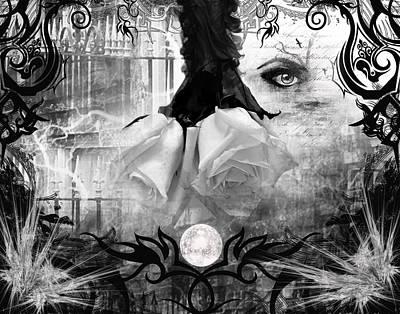 Digital Art - Unseen Tears by Michael Damiani