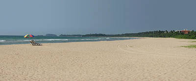 Southern Province Photograph - Unspoiled Beach At Bentota Beach by Panoramic Images