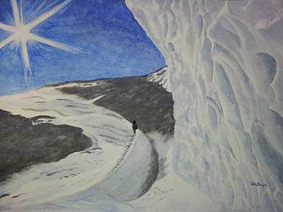 Painting - Unspoilt Antarctica by Carol De Bruyn