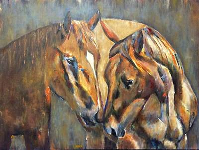 Painting - Unspoken by Kathy Stiber