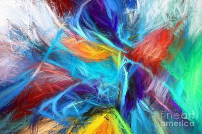 Digital Art - Unsupervised Yarn by Margie Chapman