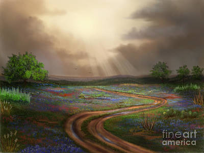 Painting - Untamed Country by Sena Wilson