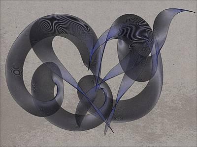 Untangled Hearts Art Print