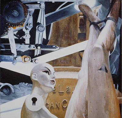 Masochism Painting - Unteachable Lessons by Dan Ault