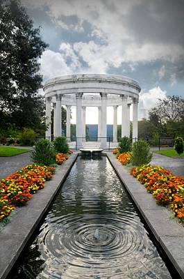Photograph - Untermyer Gardens Temple by Diana Angstadt