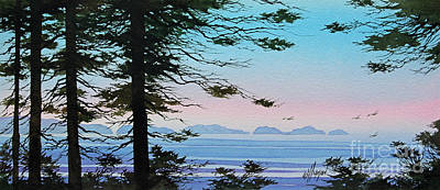 Cape Cod Painting - Until I Saw The Shore by James Williamson