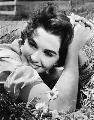 Until They Sail, Jean Simmons, 1957 Art Print by Everett