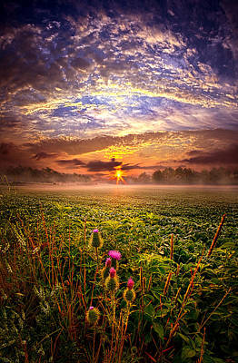 Until We Meet Again Print by Phil Koch