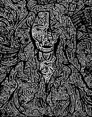 Untitled #3 Print by Urban Hippie Brownie Cat