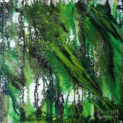 Painting - Forest Of Duars by Tamal Sen Sharma