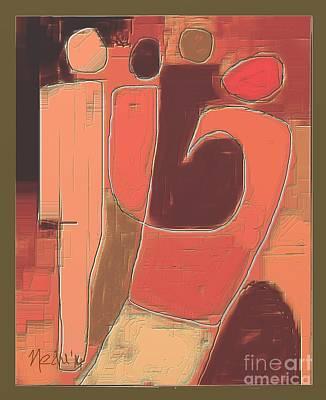 Untitled 355 Art Print by Nedunseralathan R