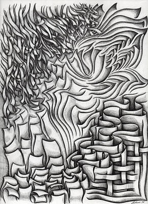 Drawing - Untitled 39 by Diana Durr