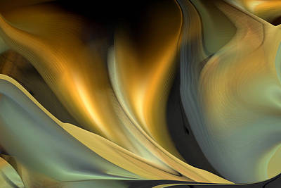 Digital Art - Untitled 8 Abstract by rd Erickson