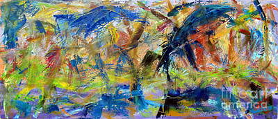 Chaos Painting - Untitled Abstract #2 by Greg Mason Burns